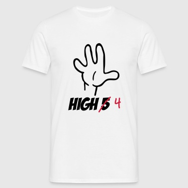 high five :-) - Mannen T-shirt