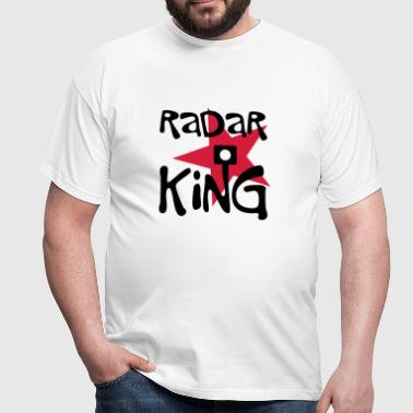Radar King - T-skjorte for menn