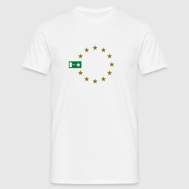 Brexit with stars - Men's T-Shirt