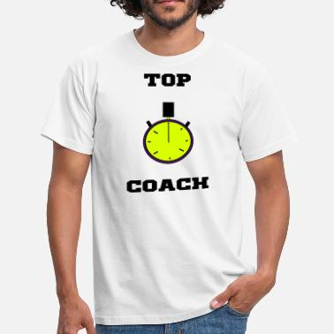 Message Sur Le Sport top_coach,coaching,ligne,message,sport - T-shirt Homme