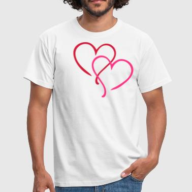 Heart Hearts Love - Men's T-Shirt