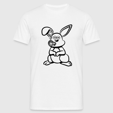 Smoke pot rabbit joint - Men's T-Shirt