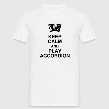 Accordion - Accordionist - Accordéon - Music  - Men's T-Shirt