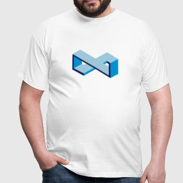 Moebius | Escher like - T-shirt Homme