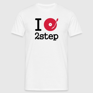 I dj / play / listen to 2step - Männer T-Shirt