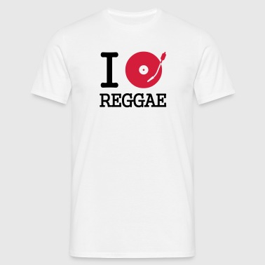 i dj / play / listen to reggae - T-shirt Homme