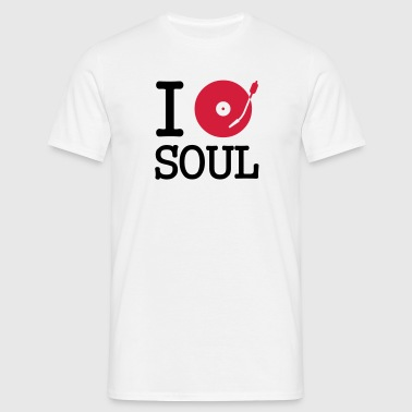 i dj / play / listen to soul - T-shirt Homme