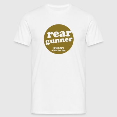 rear gunner - Men's T-Shirt