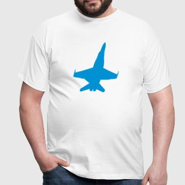FA-18 Fighter Jet - Men's T-Shirt
