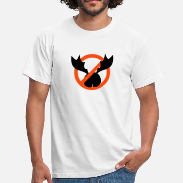 Ironie no ass antlers - T-shirt Homme