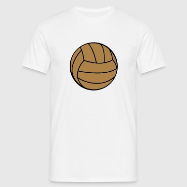 retro ball    original exit-shirt  - Männer T-Shirt