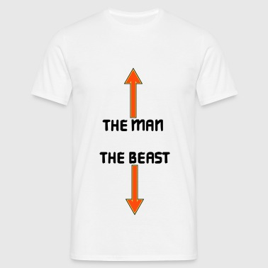 the man the beast - T-shirt herr