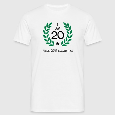 25 - 20 plus tax - Herre-T-shirt