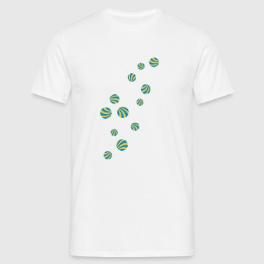 lollipop_rain - Mannen T-shirt