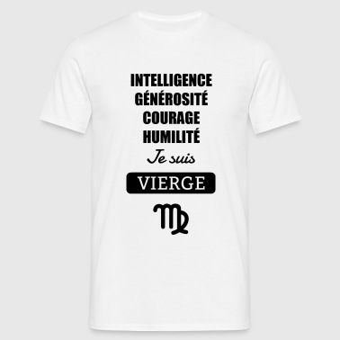 Astrologie - Vierge - Horoscope Signe Astrologique - T-shirt Homme