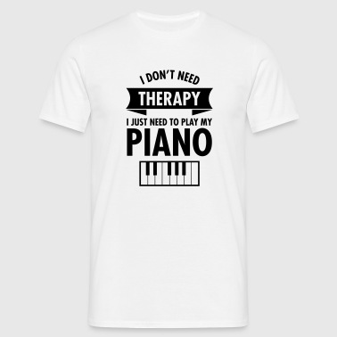 Therapy - Piano - T-shirt Homme