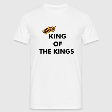 Crown / King of ... (add your Text) - Men's T-Shirt