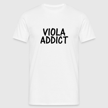viola addict - Men's T-Shirt