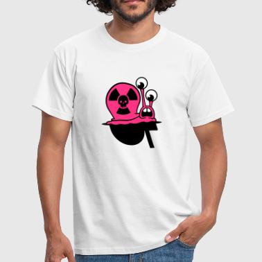 AKW Schnecke | Nuclear Snake - T-shirt Homme