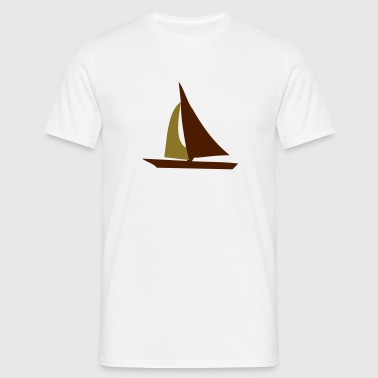 sailing - T-skjorte for menn