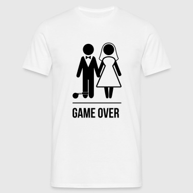 Game Over Marriage - Männer T-Shirt