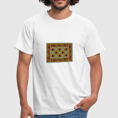 Anglo Saxon Buckle - Men's T-Shirt