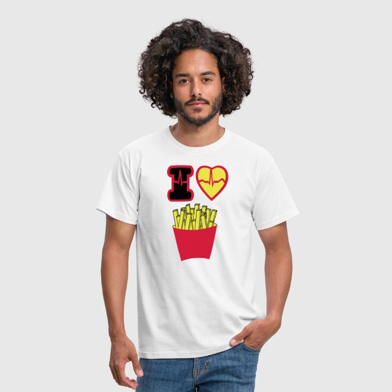 i_love_french_fries - T-shirt Homme
