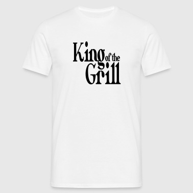 king of the grill - T-shirt herr