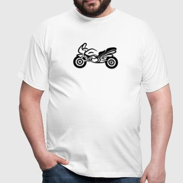 motorcycle sport quickly - Men's T-Shirt