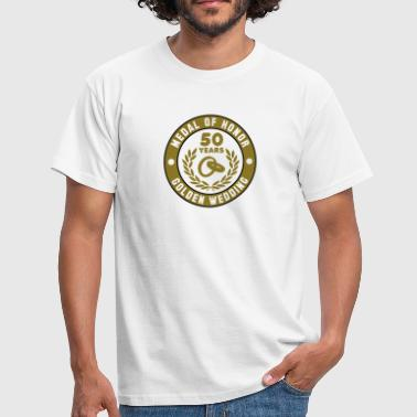 Noces D'or MEDAL OF HONOR 50e noces d'or 3C - T-shirt Homme