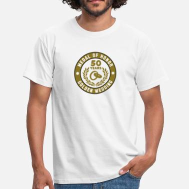 Medal Of Honor Medal Of Honor 50th GULD BRÖLLOP 3C - T-shirt herr