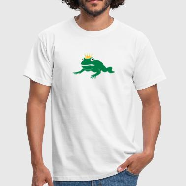 grumpy frog prince - T-shirt Homme