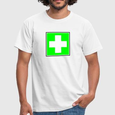First Aid Cross - Men's T-Shirt
