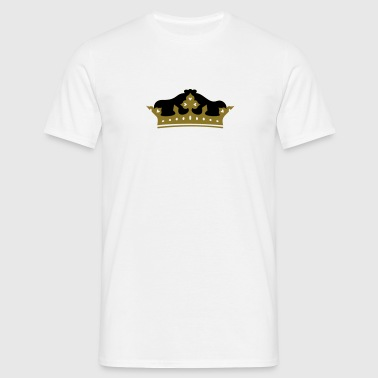 Krone / crown (2c) - Men's T-Shirt