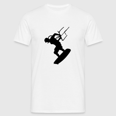 a kite - Men's T-Shirt