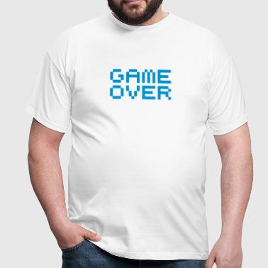 Game over / game over pixels - Männer T-Shirt