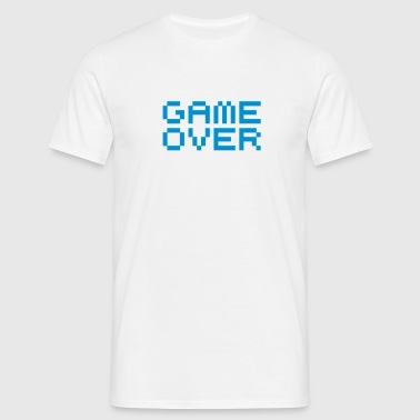 Game over / game over pixels - Mannen T-shirt