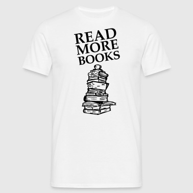 Read More Books - Männer T-Shirt