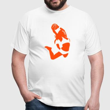 basketball girl - Männer T-Shirt