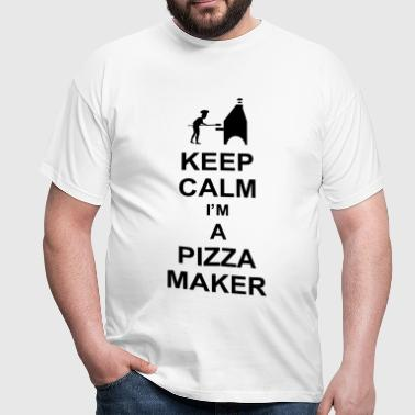 keep_calm_i'm_a_pizza_maker_g1 - Maglietta da uomo
