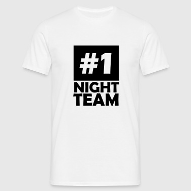 number one night team - Men's T-Shirt