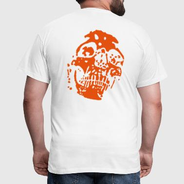 scull Destroyed - Männer T-Shirt