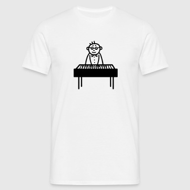 Piano Player - Pianiste - T-shirt Homme