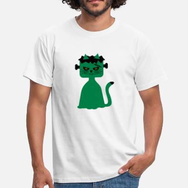 Frankenstein Arr Frankenkitty - T-skjorte for menn