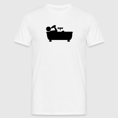 beer_in_the_bathtub - Camiseta hombre