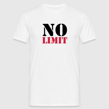 No Limit - T-shirt herr