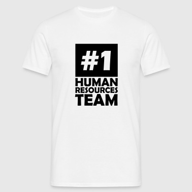 number one human resources team - Men's T-Shirt