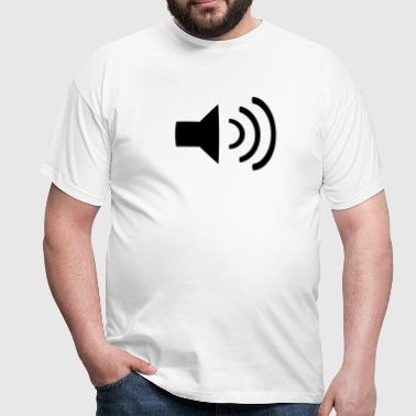 Music Volume - Men's T-Shirt