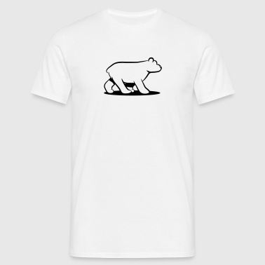Ours polaire ours - T-shirt Homme