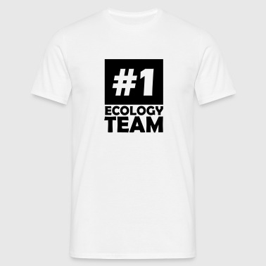 number one ecology team - Men's T-Shirt